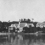 Lake-view-of-Gables,-Terrace,-Sunset-Cottage-and-Kumquat-Cottage,-1929